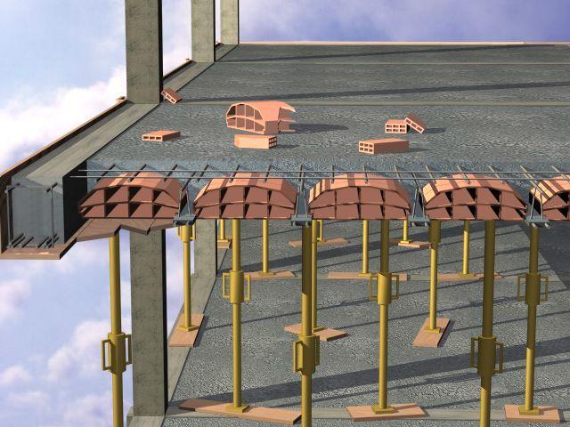 Tecnolog a eso estructuras for Forjado viguetas metalicas
